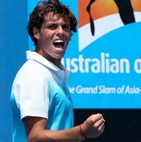 Filippo Baldi agli Australian Open 2013