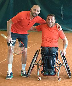 Massimo Pellegrinelli e Marco Verzeroli