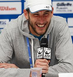 Luca Vanni, alla prima semifinale ATP in carriera