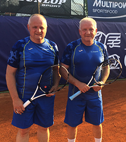 Ermanno (sinistra) e Antonio Viscardi, 54 e 57 anni