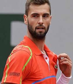 Benoit Paire, 26 anni, è stato numero 24 del mondo nel 2013 - AFP/Getty Images
