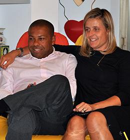 Carlos Bernardes e Francesca Di Massimo