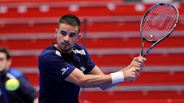 Francesco Borgo, 30 anni, è laureato in biologia ma fa il tennista